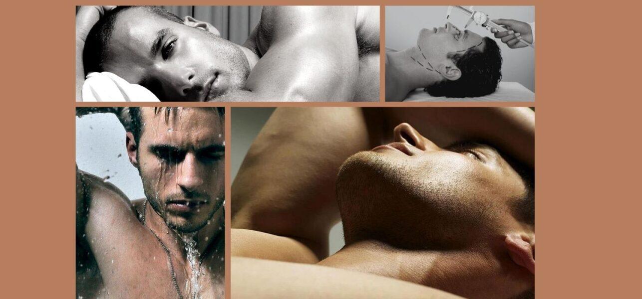 Escultura facial en varones: particularidades